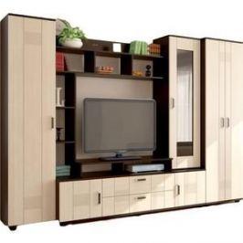 Гостиная Стиль Стиль 7+шкаф венге/клен