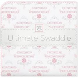 Фланелевая пеленка SwaddleDesigns для новорожденного PP Little Princess (SD-414PP)