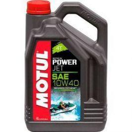 Моторное масло MOTUL PowerJet 4T 10W-40 4 л