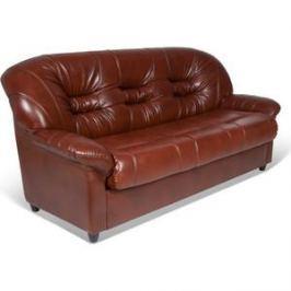 Диван-кровать СМК Шарлотта 045 3т к/з Родэс 0468 коричневый