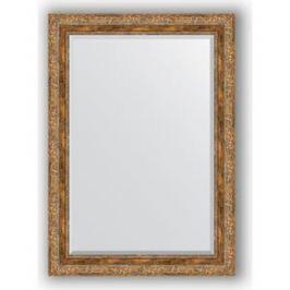 Зеркало с фацетом в багетной раме поворотное Evoform Exclusive 75x105 см, виньетка античная бронза 85 мм (BY 3462)