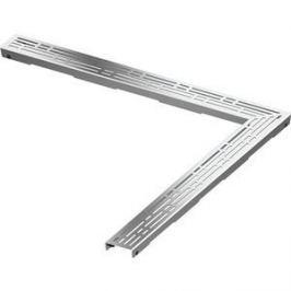 Решетка TECE TECEdrainLine Basic 100х100 см угловая (611010)
