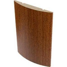 Наличник VERDA МДФ полукруглый облицованный шпоном 2140х65х12 мм (5 шт) Макоре