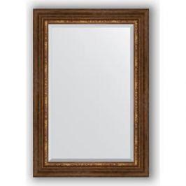 Зеркало с фацетом в багетной раме поворотное Evoform Exclusive 66x96 см, римская бронза 88 мм (BY 3439)