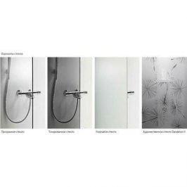 Передняя стенки и дверь IDO Showerama 8-5 90x90 см, профиль серебристый, тонированное (4985013992)