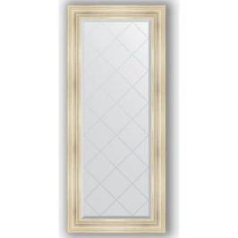 Зеркало с гравировкой поворотное Evoform Exclusive-G 69x158 см, в багетной раме - травленое серебро 99 мм (BY 4160)