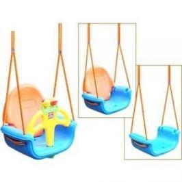 Качели подвесные Pilsan Do-Re-Mi цвет голубой-оранжевый (06-118)