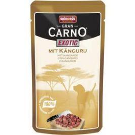 Паучи Animonda GranCarno Exotic с мясом кенгуру для собак 125г (82786)