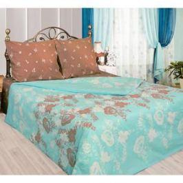 Комплект постельного белья Сова и Жаворонок 2-х сп, бязь, Карамель, n50