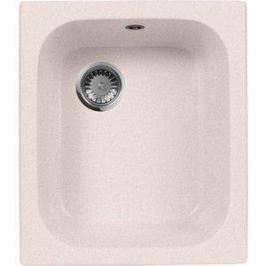 Кухонная мойка AquaGranitEx M-17 420х485 светло-розовый (M-17 (311))