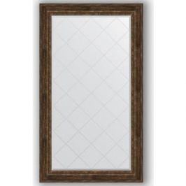 Зеркало с гравировкой поворотное Evoform Exclusive-G 102x177 см, в багетной раме - состаренное дерево с орнаментом 120 мм (BY 4430)