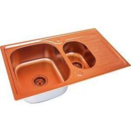 Мойка кухонная ZorG Inox Pvd (SZR-780-2-480 COPPER)