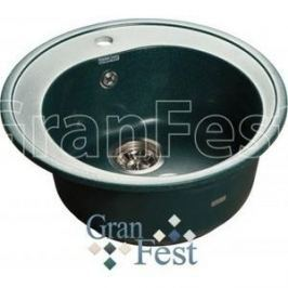 Мойка кухонная GranFest гранит D510 (Gf-R510 зеленая)