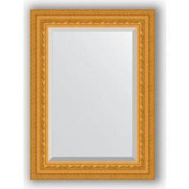 Зеркало с фацетом в багетной раме поворотное Evoform Exclusive 55x75 см, сусальное золото 80 мм (BY 1224)