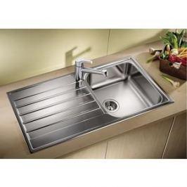 Мойка кухонная Blanco Livit 45 S Salto сталь 221480 +214381 (514786)