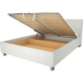 Кровать OrthoSleep Ниагара механизм и ящик белый 80х200