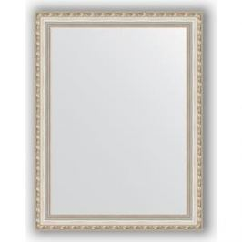 Зеркало в багетной раме поворотное Evoform Definite 65x85 см, версаль серебро 64 мм (BY 3174)