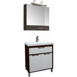 Комплект мебели Aquanet Гретта 75 цвет венге (фасад белый)