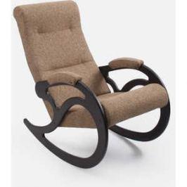 Кресло-качалка Мебель Импэкс МИ Модель 5 каркас венге с лозой,обивка Malta 03А