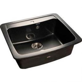 Мойка кухонная GranFest гранит 605x510 (Gf-S605 черная)