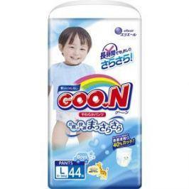 Трусики - подгузники Goon 9-14 кг для мальчиков (44шт) L (4902011751383) 753712