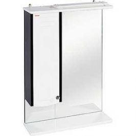 Зеркальный шкаф Меркана ольга 55 см шкаф слева свет венге (16023)