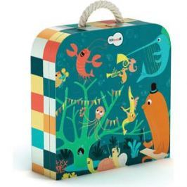 Krooom Игрушки из картона: пазл Морские животные (k-601)