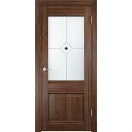 Дверь CASAPORTE Милан-12 остекленная 2000х900 экошпон Орех