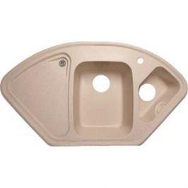 Мойка кухонная GranFest гранит угловая 1040x570 (Gf-C1040E песок)