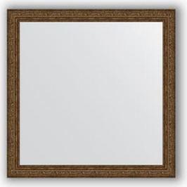 Зеркало в багетной раме Evoform Definite 74x74 см, виньетка состаренная бронза 56 мм (BY 3233)