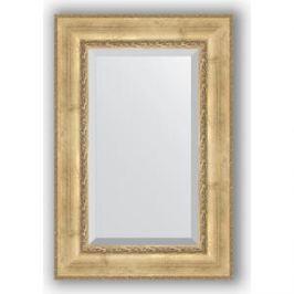Зеркало с фацетом в багетной раме поворотное Evoform Exclusive 62x92 см, состаренное серебро с орнаментом 120 мм (BY 3428)