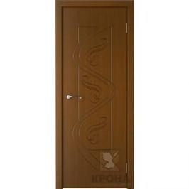 Дверь VERDA Вега глухая фрезерованная 2000х700 шпон Орех