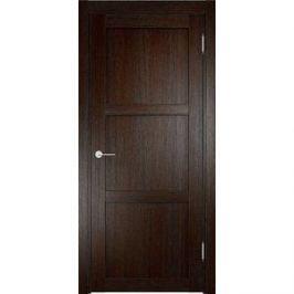 Дверь ELDORF Баден-1 глухая 2000х700 экошпон Дуб темный