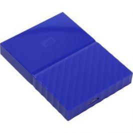 Внешний жесткий диск Western Digital 1Tb My Passport blue (WDBBEX0010BBL-EEUE)