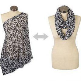 Шарф для кормления Itzy Ritzy Cheetah Girl (IBFS8104)