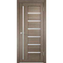 Дверь ELDORF Берлин-2 остекленная 1900х550 экошпон Дуб дымчатый