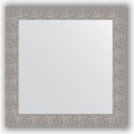 Зеркало в багетной раме Evoform Definite 80x80 см, чеканка серебряная 90 мм (BY 3247)