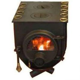 Отопительная печь Бренеран АОТ-06 т00 плита с 2 конфорками дверца со стеклом