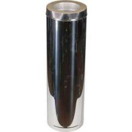 Труба Феникс сэндвич 110/200 мм длина 0.5 м сталь AISI 430 (1.0 нерж.мат./0.5 нерж.зерк.)(00946)