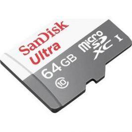 Карта памяти Sandisk 64GB microSDXC Class 10 Ultra Android UHS-I (SDSQUNB-064G-GN3MN)