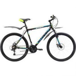 Велосипед Stark Outpost 26.1 D черно-зеленый 16
