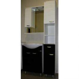 Комплект мебели Меркана Таис черный каннелюр