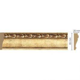 Молдинг Decomaster Античное золото цвет 552 85х25х2400 мм (152-552)