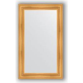 Зеркало в багетной раме поворотное Evoform Definite 72x122 см, травленое золото 99 мм (BY 3219)