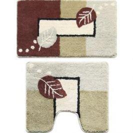 Набор ковриков для ванной Milardo Late Autumn 50x80 и 50x50 см (340PA68M13)