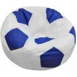 Кресло-мешок Мяч Пазитифчик Бмэ8 бело-синий
