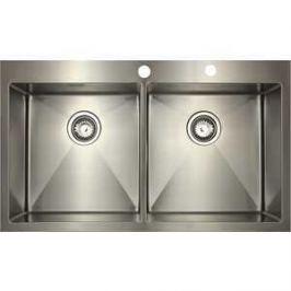 Мойка кухонная Seaman Eco Marino SMB-8851DS вентиль-автомат (SMB-8851DS.B)
