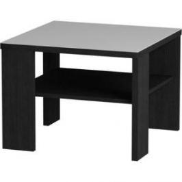 Журнальный стол MetalDesign Смарт MD 734.01.11 корпус-черный/ стекло-белый
