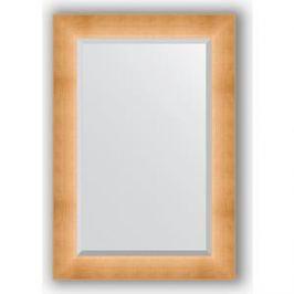 Зеркало с фацетом в багетной раме поворотное Evoform Exclusive 66x96 см, травленое золото 87 мм (BY 1181)