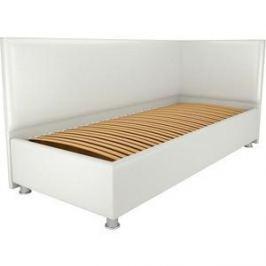 Кровать OrthoSleep Бибионе Лайт ортопед. основание белый 80х200
